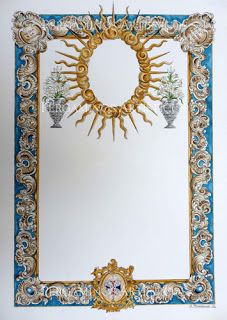 Otra obra de acuarela realizada por Antonio Bohórquez de Arahal para la Hdad. de la Santa Faz de #Córdoba