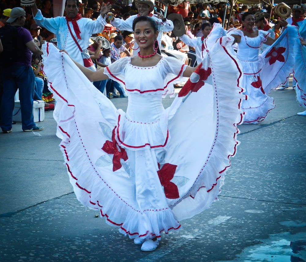 The Cumbia Dancer: Carnival in Colombia | Festivals to experience