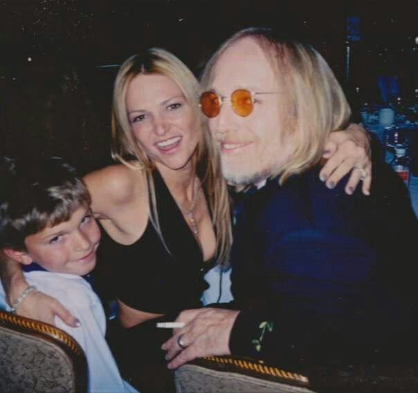 Tom Petty, his wife, Dana, and her son, Dylan, at the ...
