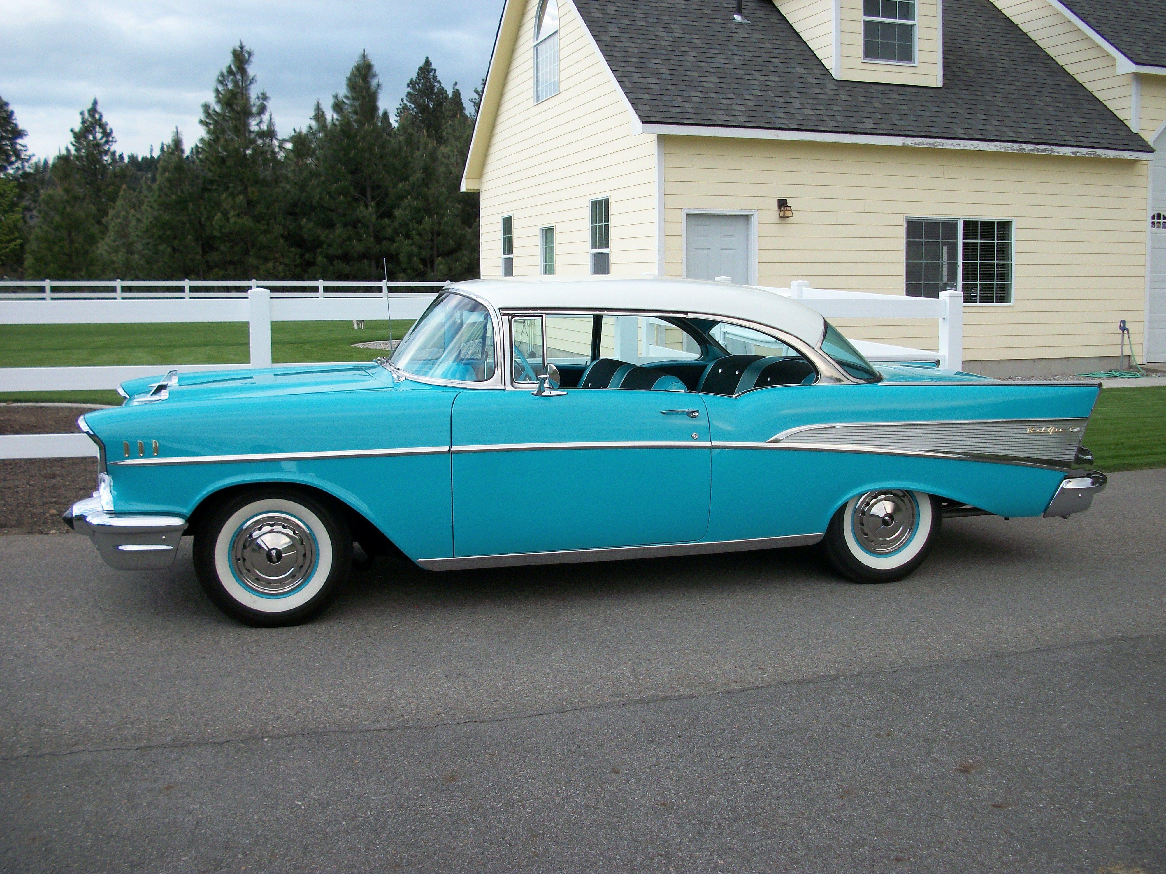 1957 Chevrolet Bel Air 2 Door Hardtop   1957 chevrolet, Bel air ...