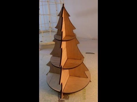 Instruction Christmas Tree No 2 For Sacrafters Product Wood Christmas Tree Wooden Christmas Trees Christmas Wood