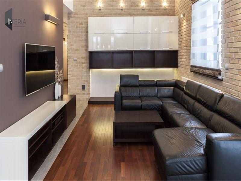 Interia Is A Leading Residential Interior Designers In Delhi Ncr Our Skilled Interior Decorato Stone Walls Interior Modern Living Room Interior Stone Interior