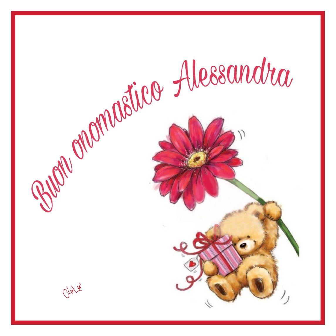 Buon Onomastico Alessandra Compleanni Onomastici E Anniversari