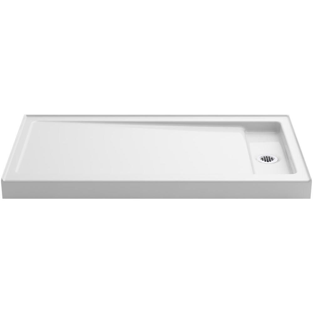 Kohler Bellwether 60 In X 32 In Cast Iron Single Threshold