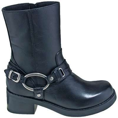 d0c9947ca8287a Harley Davidson Boots  Women s 10-Inch Christa Harness Motorcycle Boots  85298