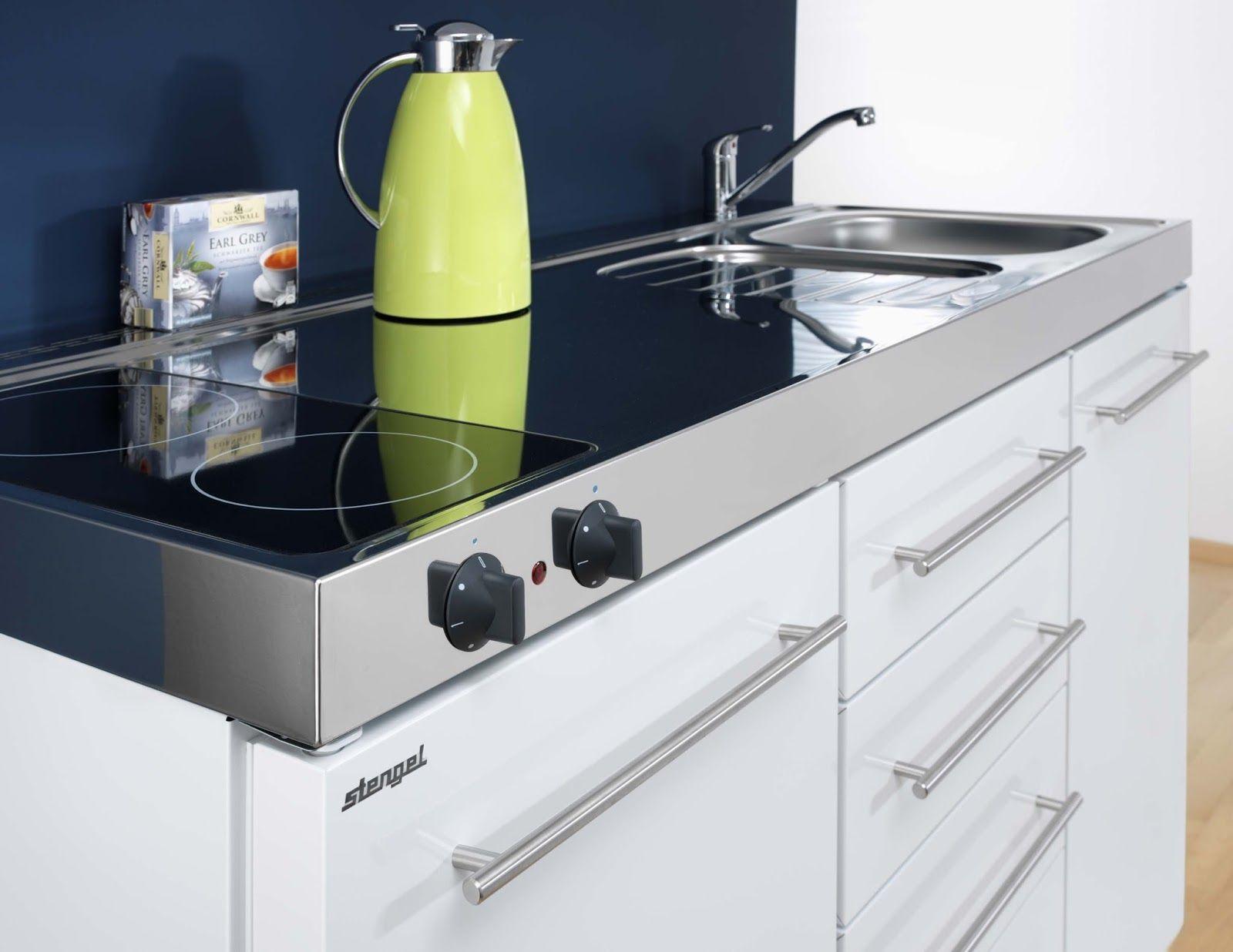 Fregadero cocina frigor fico almacenaje microondas y - Mini cocinas compactas ...