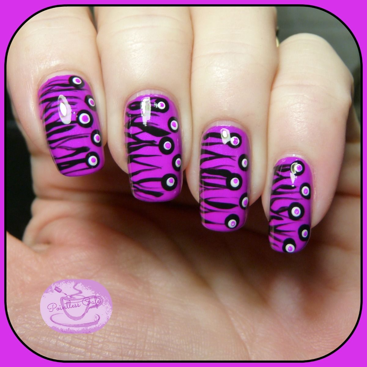 13 Days of January Nail Art Challenge: Half and Half   Pointless ...