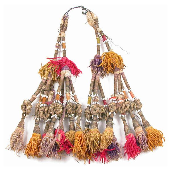 Antique Turkoman Tribal Tassels