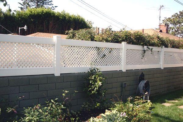 Cinder Block Phoenix Az Fence Design Backyard Fences Backyard