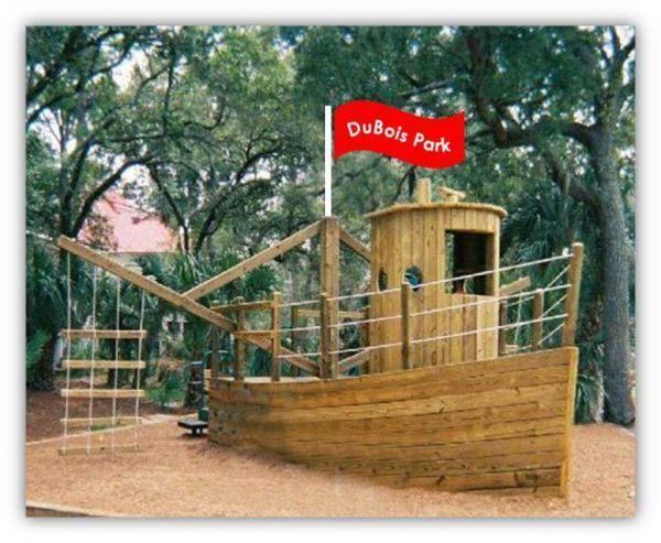 Pirate Ship Playground Plans | Kids pirate ship, Kids ...