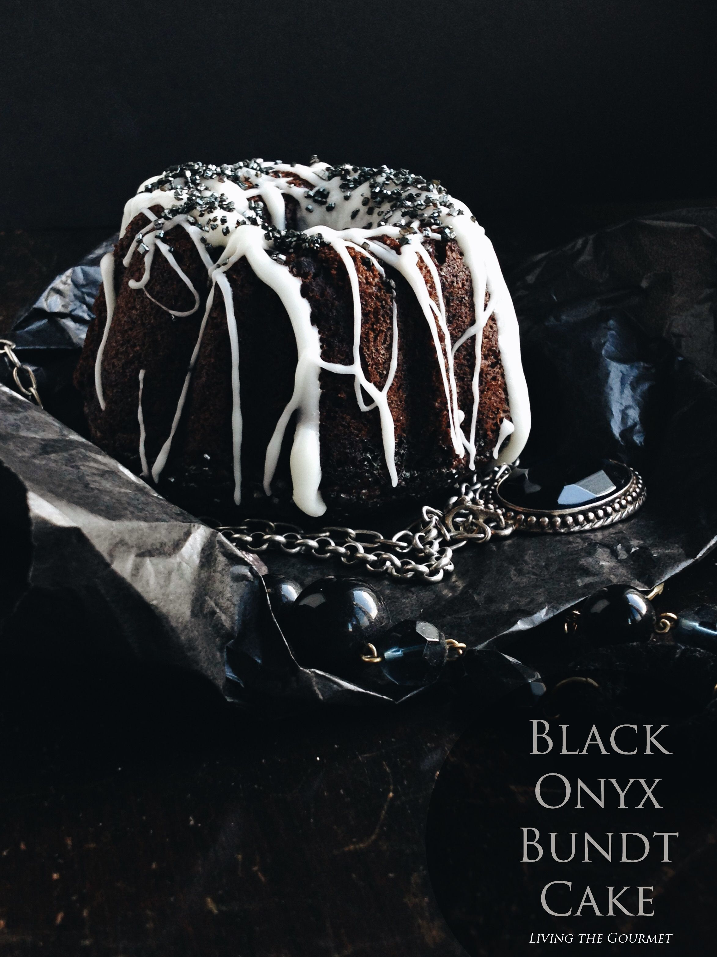 Black Onyx Bundt Cake #bundtbakers