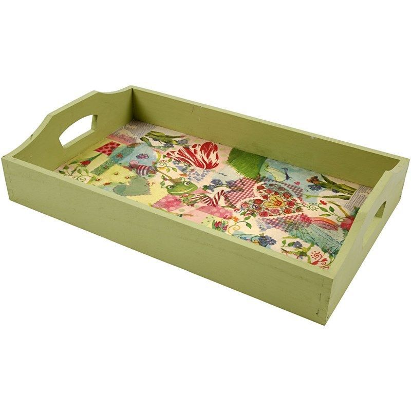 Unfinished Wooden Trays For Decoupage Decoration Gorgeous Wooden Tray For Decorating  Wooden Shapes For Crafts  Ebay Decorating Inspiration