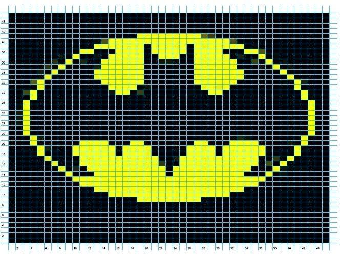 HECHO A MANO.CL ** ( en Chile).: Batman Gorro tejido a palillos ...