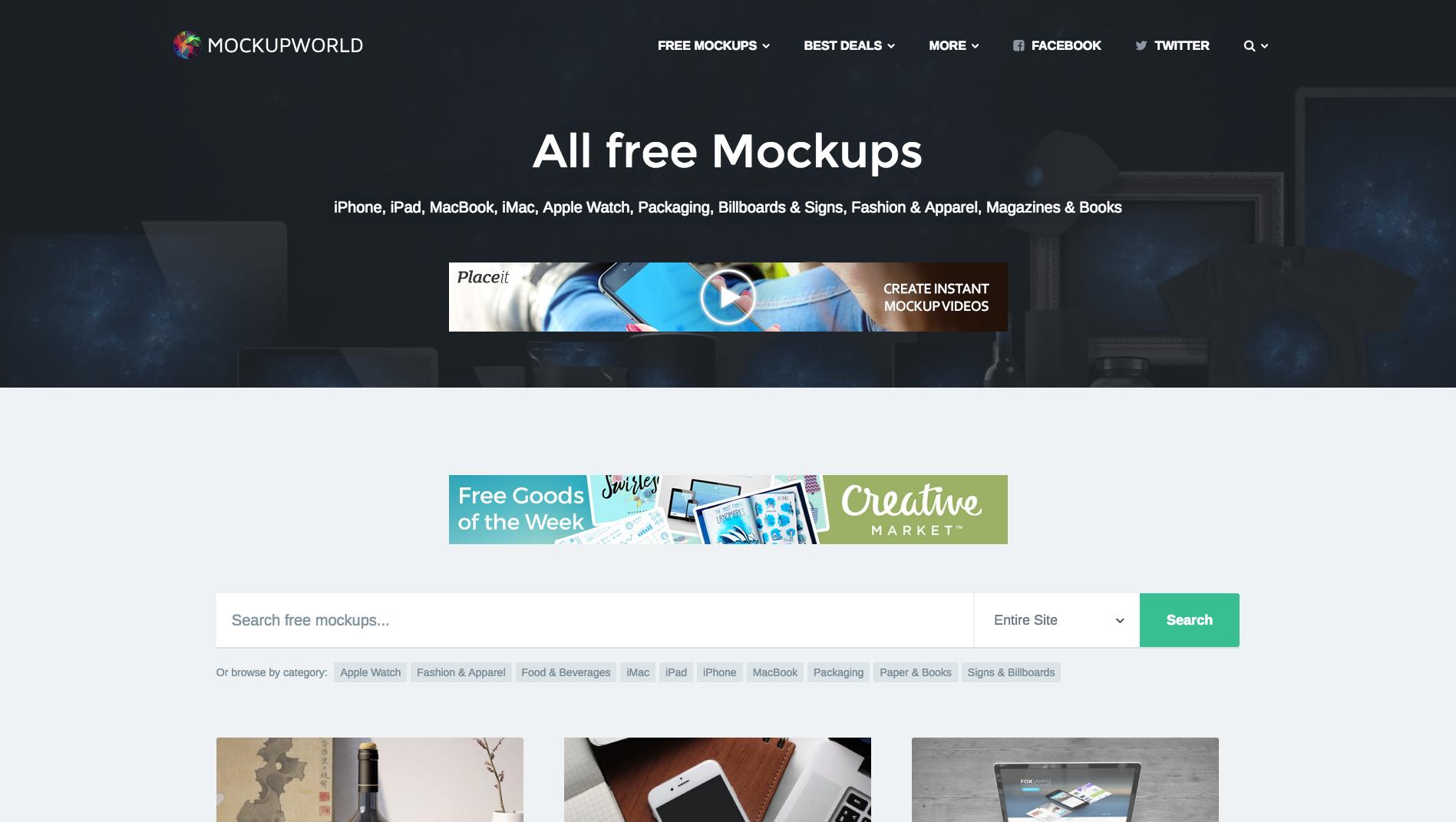 All Free Mockups Https Www Mockupworld Co All Mockups Web Development Design Free Mockup Web Design