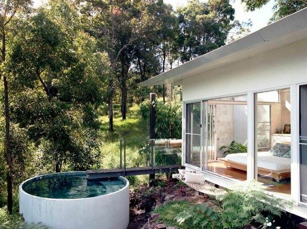 Pool Small Garden Footbridge Bedrooms Around Concrete Pipe