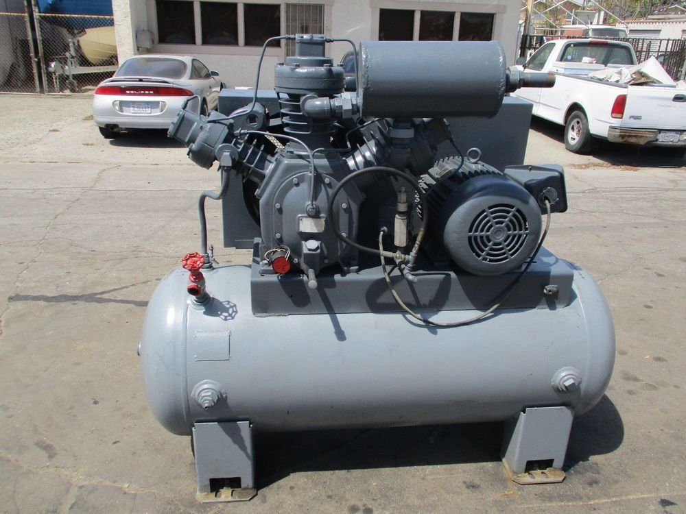 INGERSOLL RAND TYPE 30T 20 H.P. RECIPROCAL AIR COMPRESSOR