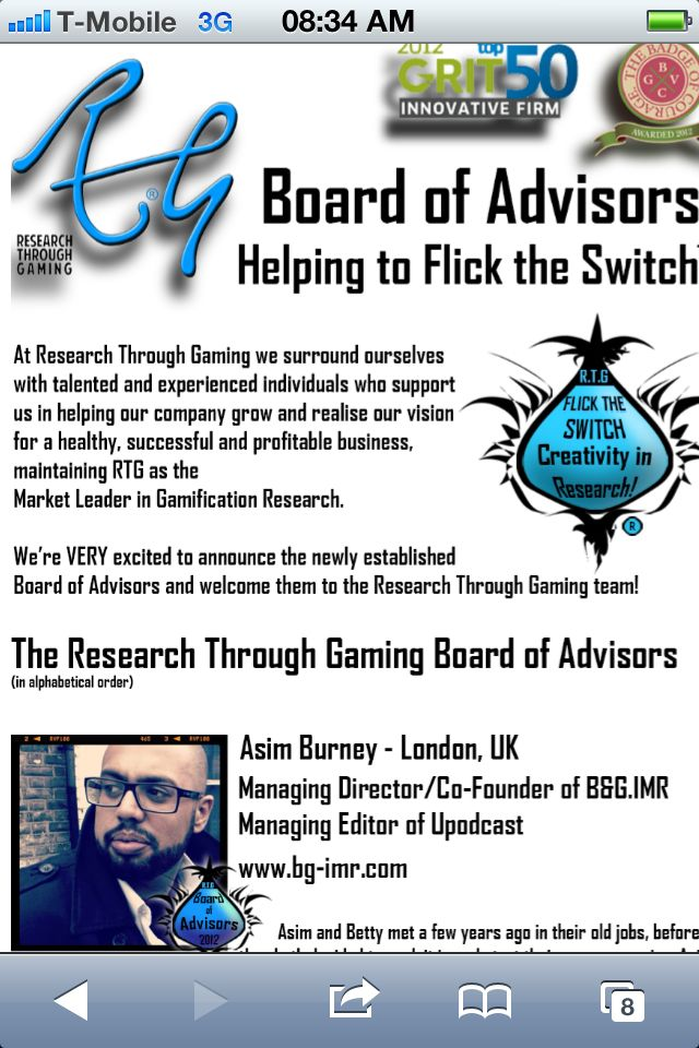 Part of our Board of Advisors Announcement