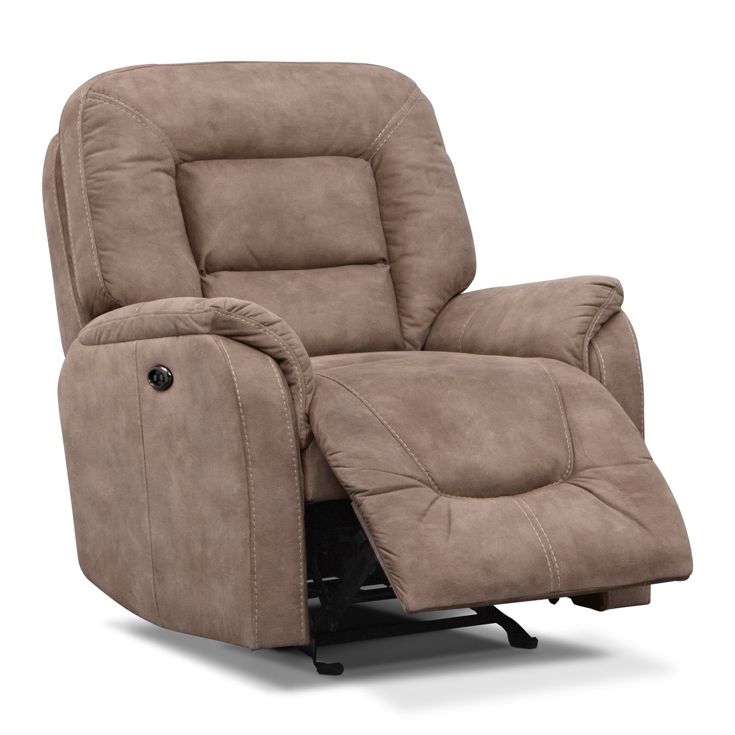 Fantastic Vcfcontest Darien Power Glider Recliner Value City Cjindustries Chair Design For Home Cjindustriesco