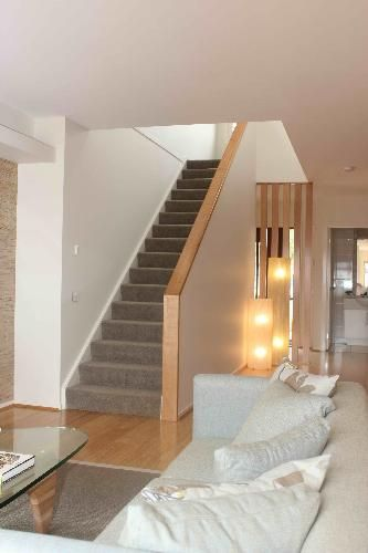Stair Box In Bedroom: Drywall And Glass Stairwell - Google Search