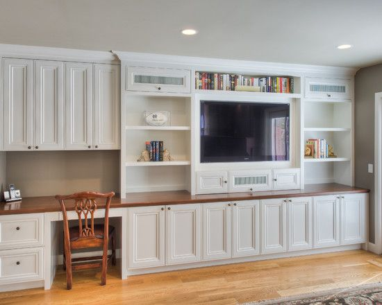 Built In Desk Design Ideas Pictures Remodel And Decor Living Room Entertainment Center Living Room Entertainment Home Entertainment Centers