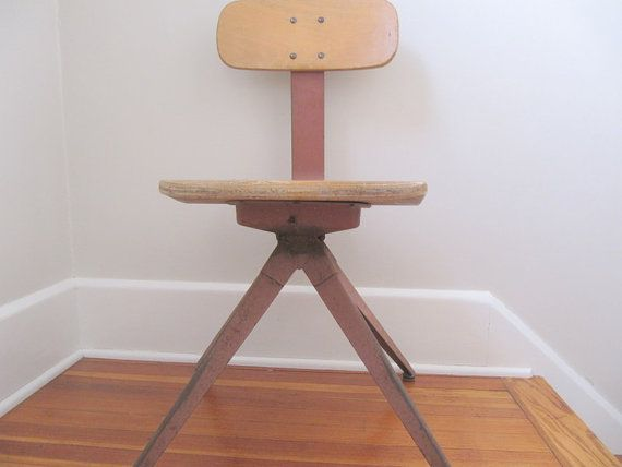 Mid Century Modern Danish Chair Adult Size by oldgoatandhorse, $95.00