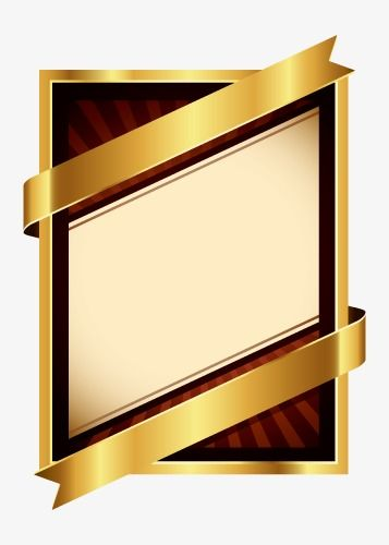 Luxury Three Dimensional Gold Frame Png And Vector Gold Texture Background Powerpoint Background Design Frame