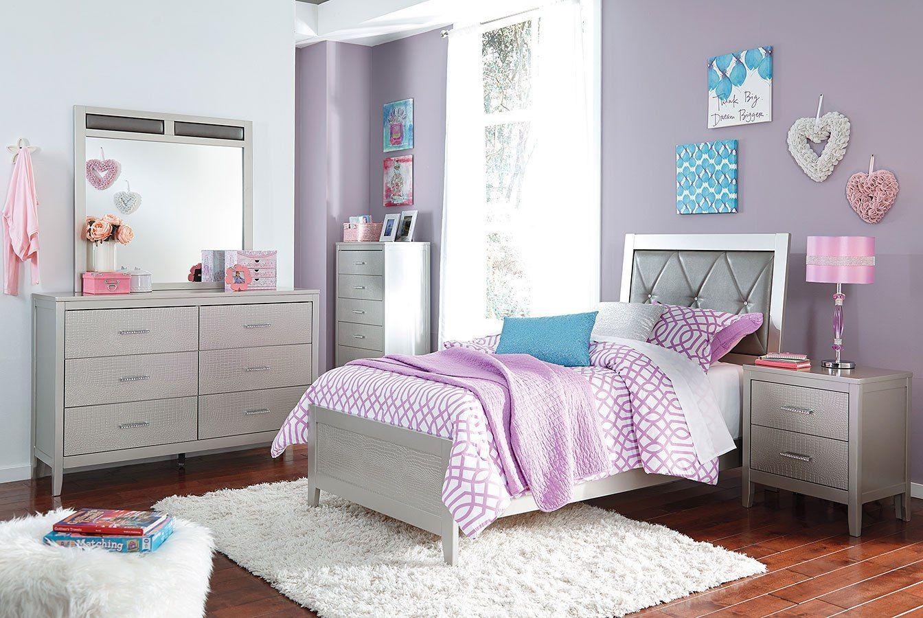 Best Olivet Youth Panel Bedroom Set Bedroom Sets Royal 640 x 480