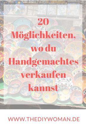 Photo of 25 Möglichkeiten Handgemachtes zu verkaufen – online und offline
