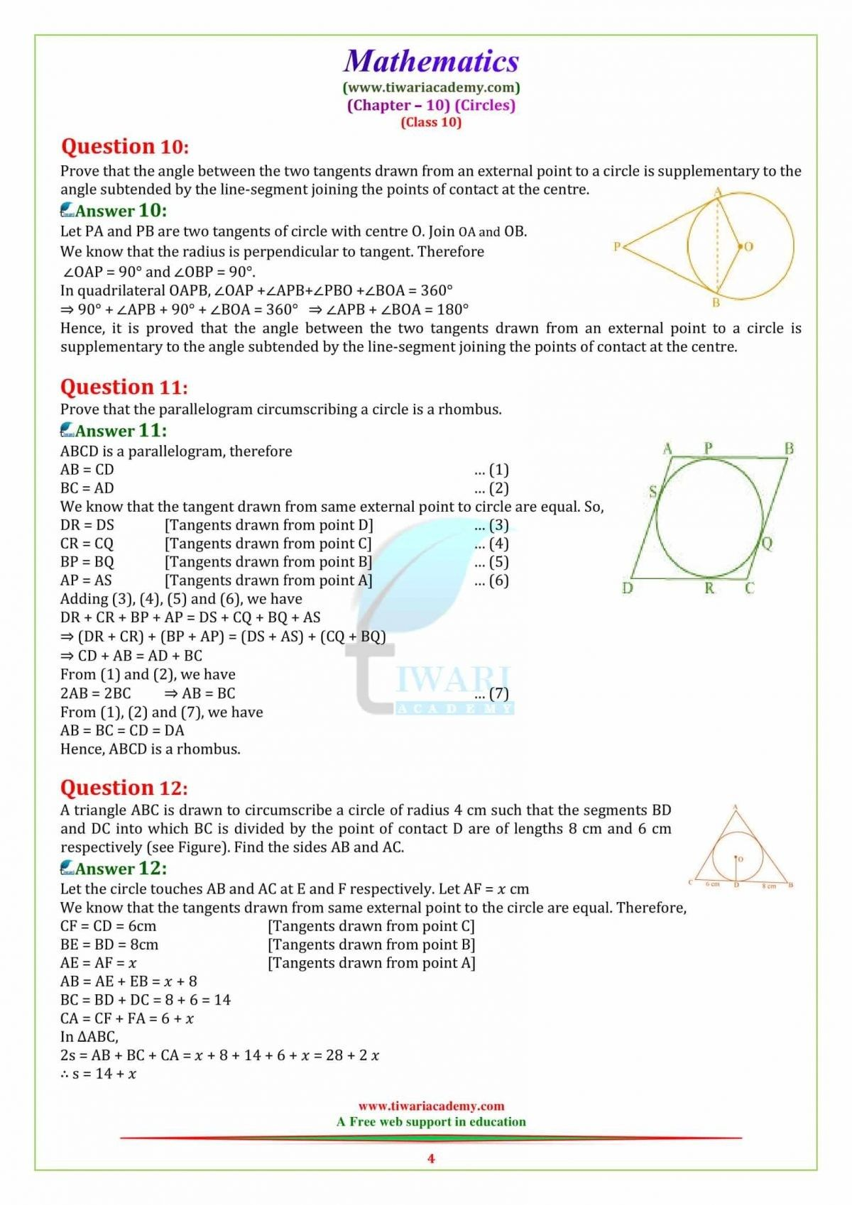 Pin By Tiwari Academy On Ncert Solutions For Class 10