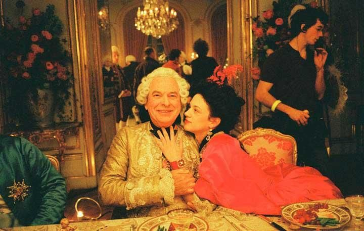 Marie Antoinette (2006) - Madame du Barry and  Louis XV of France (Asia Argento and Rip Torn)