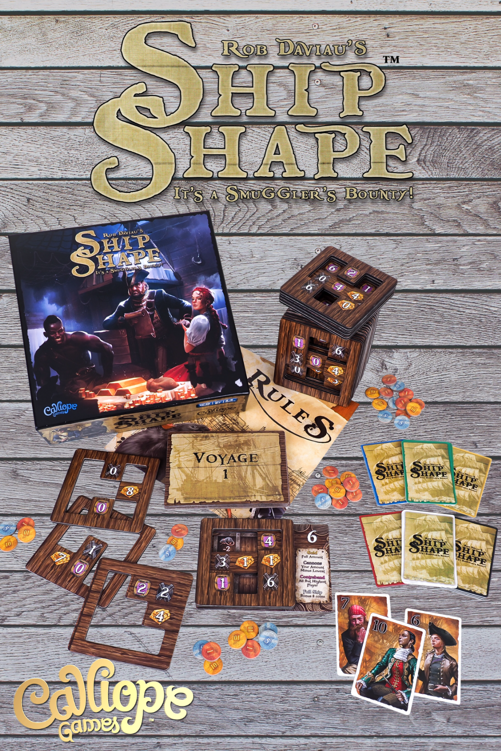 ShipShape from Calliope Games in 2020 Kids awards, Best