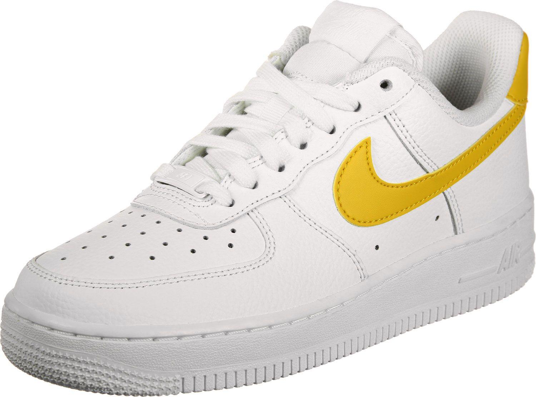 Nike Air Force 1 '07 W Schuhe weiß gelb im WeAre Shop in
