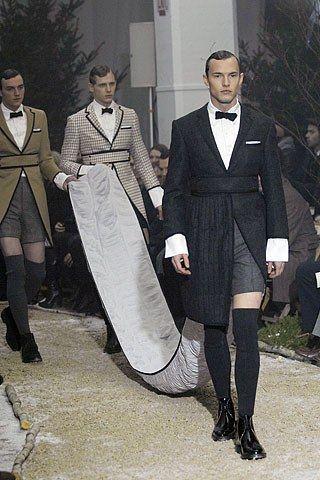 51a034ad3c5 Thom Browne Fall 2007 Menswear Fashion Show