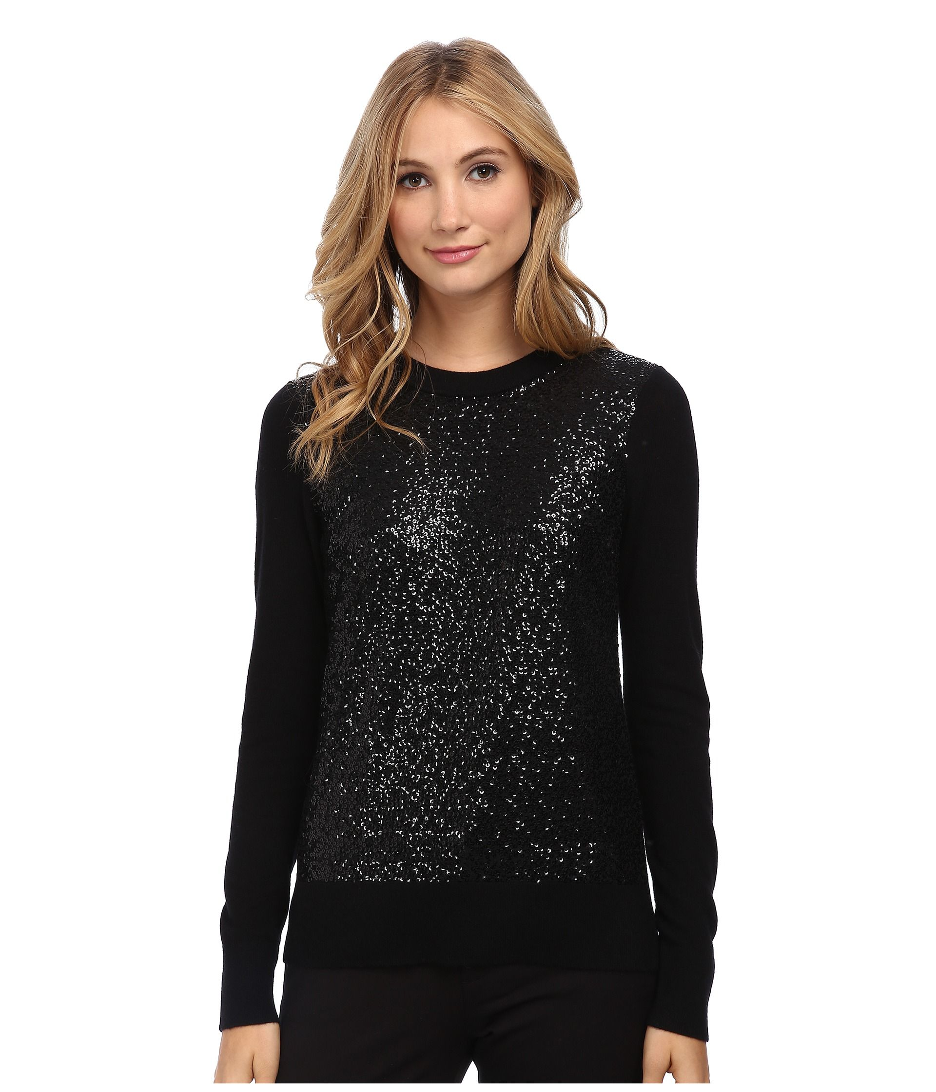 Kate Spade New York Fluffy Wool Sequin Sweater | Dressy Occasion ...
