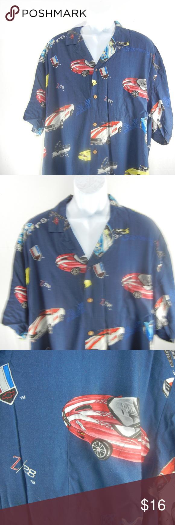 Paradise Found Size 3XLarge Chevy Camero Shirt Brand