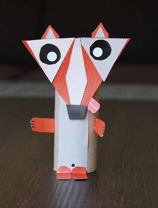 Toilet paper roll animal crafts step4