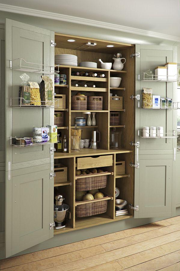 Cozinha organizada, quero projetar um movel assim para os ...