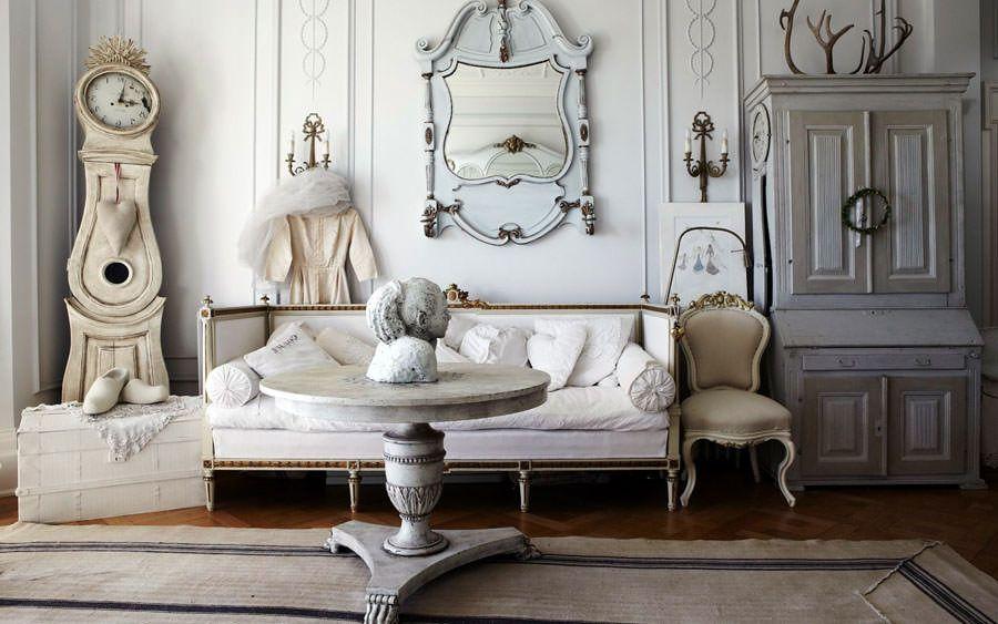 Idee per arredare il soggiorno in stile shabby chic n.24 | rustic ...