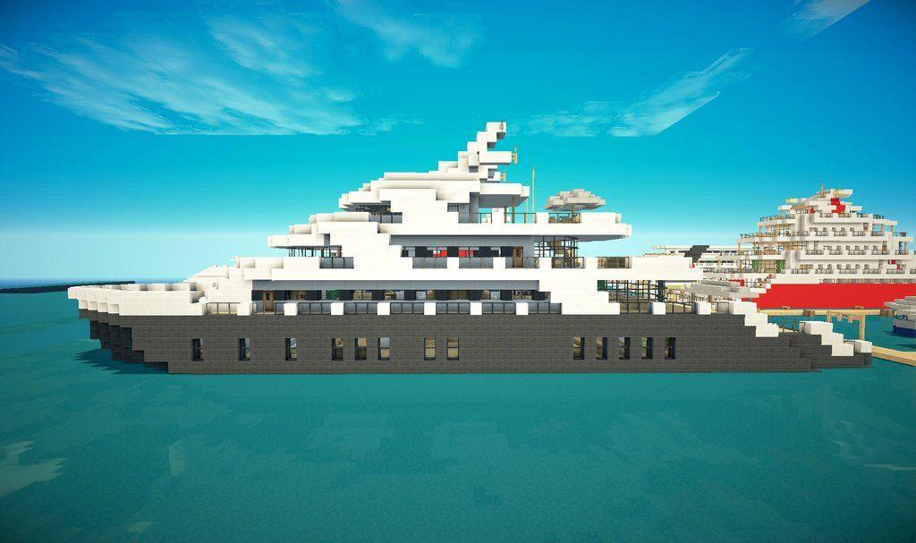 Minecraft Yacht Minecraft Ships Minecraft Ships Minecraft