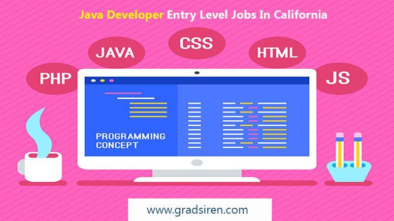 Java developer jobs in california software development
