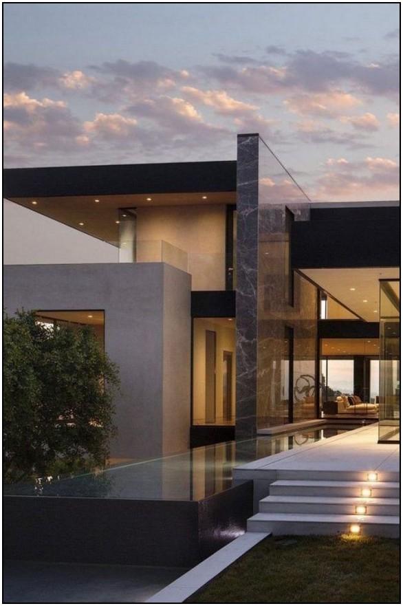 Rumah Mewah Png : rumah, mewah, Elegant, Desain, Ideas, Myblogika.com, Facade, House,, Modern, Villa, Design,, Architecture, House