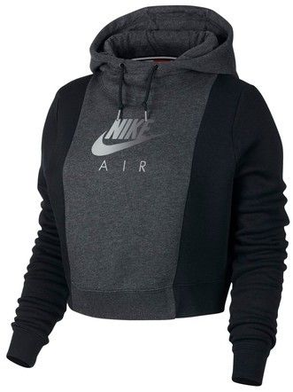f8ae17b60a51 Nike Women s Nsw Rally Air Women s Crop Pullover Hoodie