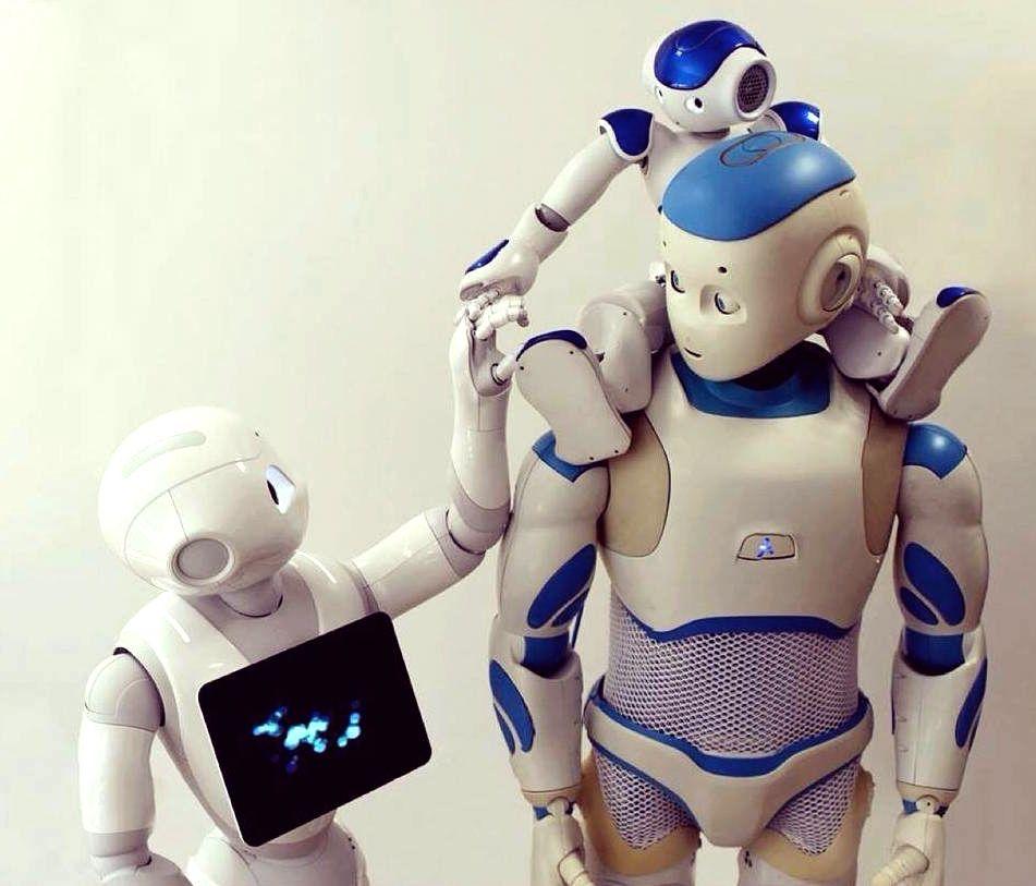 Nao the Robot PepperRobot and RomeoRobot em http//www
