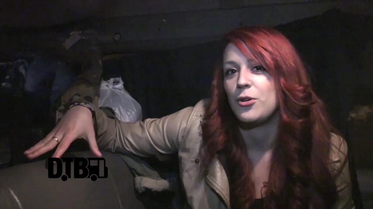 The alternative rock band, Aria, takes you on a tour of their tour van!