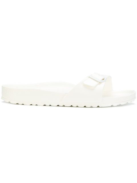 Birkenstock MADRID - Pool sliders - white S9NxHOk