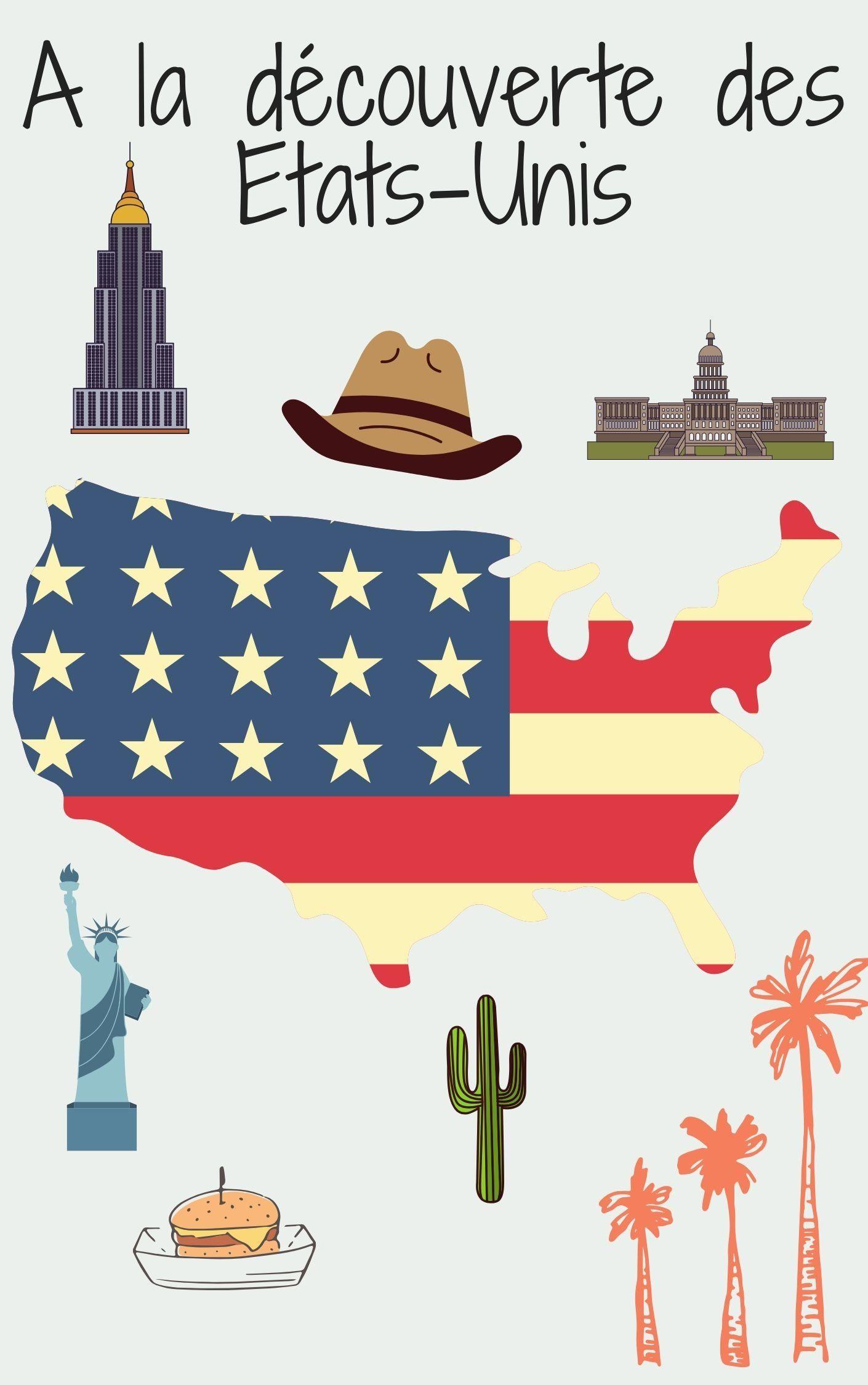 Autour des Etats-Unis , Cahier d'activités, à partir de 3 ...