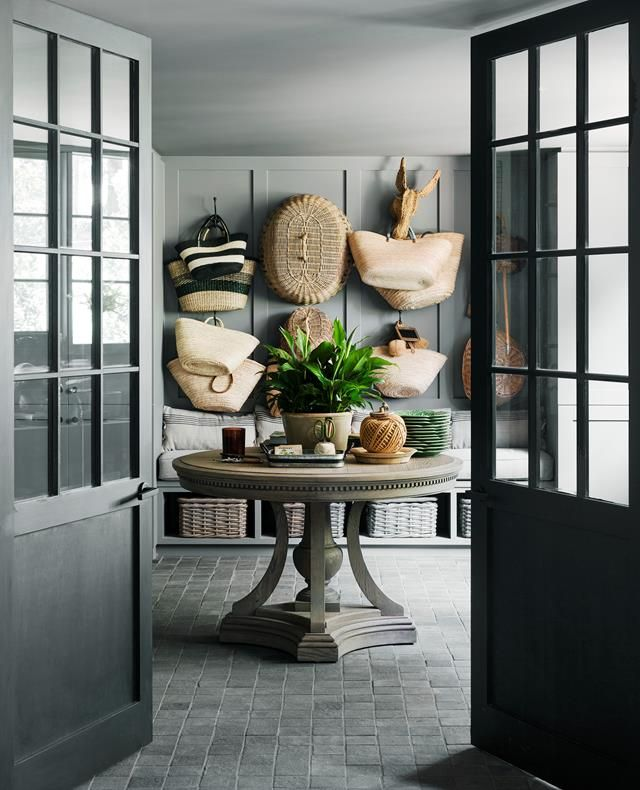 Chyka Keebaugh's leafy Mornington Peninsula weekender #restorationhardware