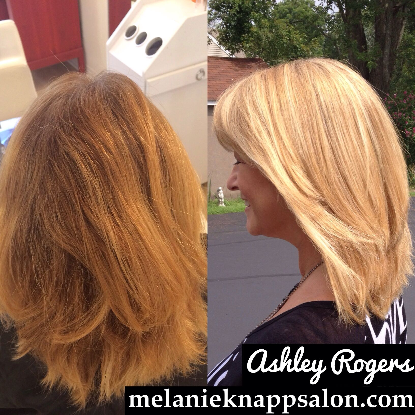 Before And After Blonde Hair Using Olaplex Amazing Shine Hair By