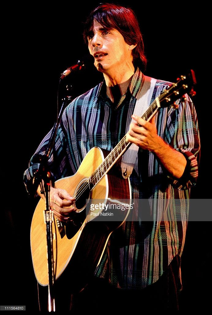 Jackson Browne on 8/28/83 in Chicago,Il.