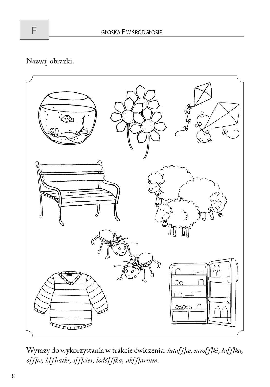 Obrazkowe Cwiczenia Logopedyczne Dla Przedszkolakow Kindergarten Kids Creative